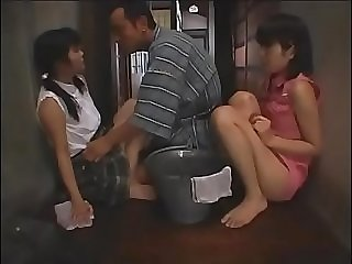 Employer fucking and abusing his two maids