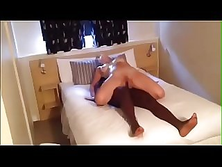 White Wife Ass Fucked By Her Black Bull as Hubby Films